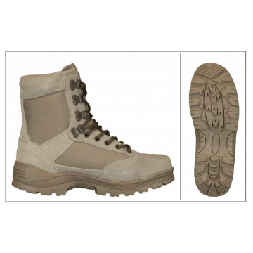BARBARIC tactical boots with COOLMAX system