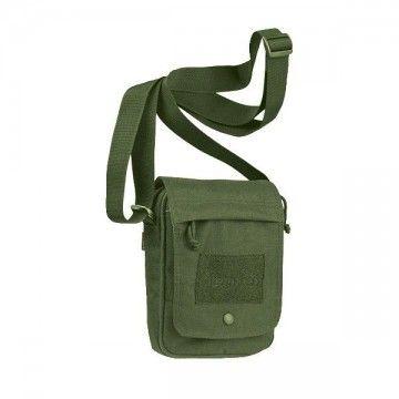 Bolsa tipo bandolera de la marca Pentagon. Verde