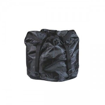 Reducing sleeve bag. Type cuadrille black. Large.