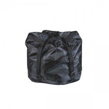 Funda reductora para saco. Tipo cuadrille negro. Grande.