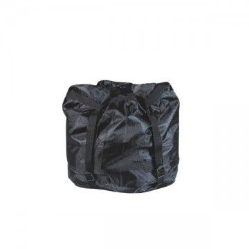 Reducing sleeve bag. Type cuadrille black. Small.