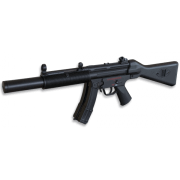 Fusil eléctrico MP5 SD5, marca Well