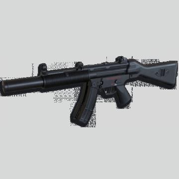 Fusil électrique pour l'airsoft, la réplique du modèle bien MP5 SD3 acier estampé