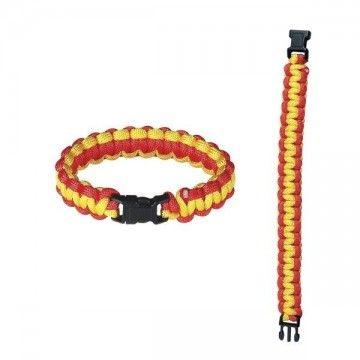 2.2 meters paracord bracelet. Spain.