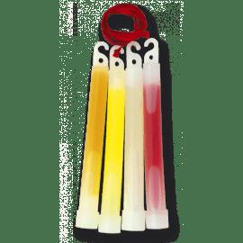 "Luz quimica 6"" de color rojo"