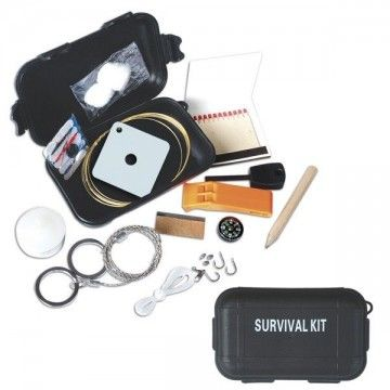 Kit of survival in extreme situations.