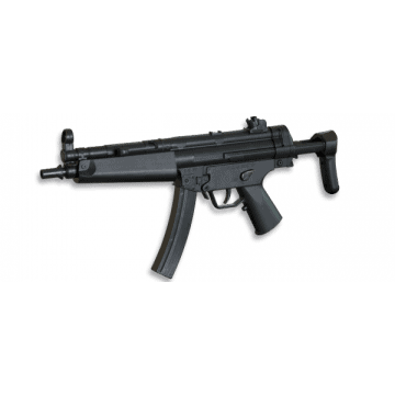 Electric rifle for airsoft. The MP5 A5 model replica, mark Well