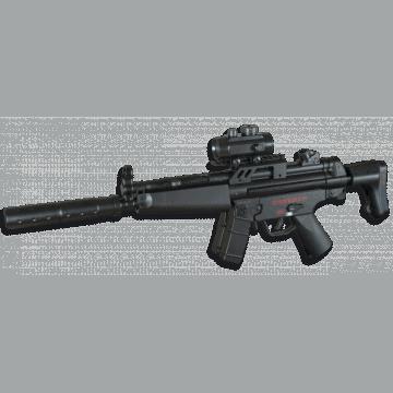 Fusil électrique pour réplique d'airsoft, MP5, Cyma marque modèle