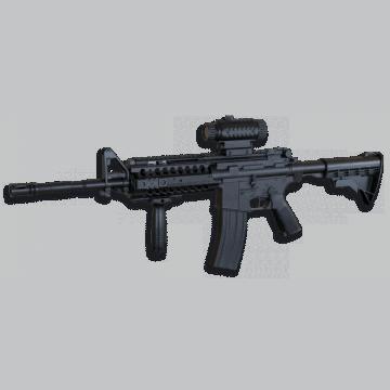 Lunette de réduction pour réplique airsoft du modèle M4A1, bien