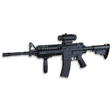 Rifle reduction for airsoft replica of the M4A1 model, Well