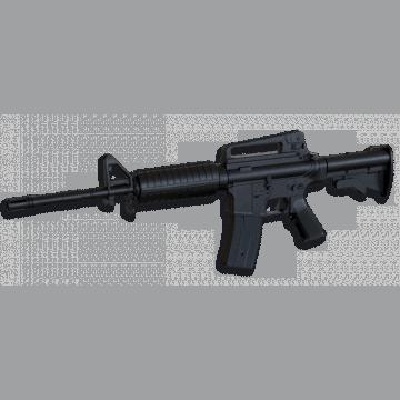 Fusil eléctrico M16A2, de la marca Well