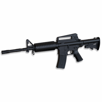 Rifle reduction for airsoft replica of the M16 model, Well
