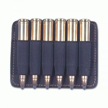 Leather Portamunicion with up to 6 bullets.