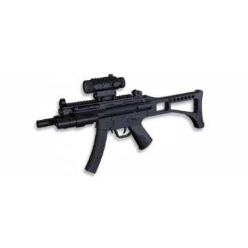 Electric rifle for airsoft, MP5 brand Well model replica