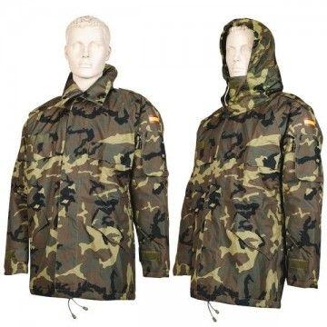 Abrigo de camuflaje tipo cuadrille. Ejército Español