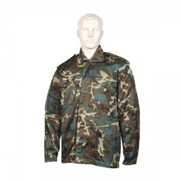 Color camo M65 coat