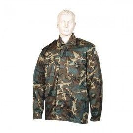 Color camo M65 coat