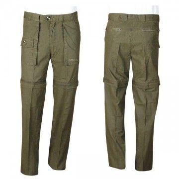 Pantalón desmontable tipo MASAI. Khaki