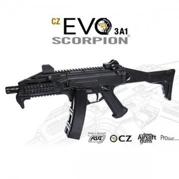 Rifle de airsoft SCORPION CZ EVO, modelo 3A1, M95 ASG