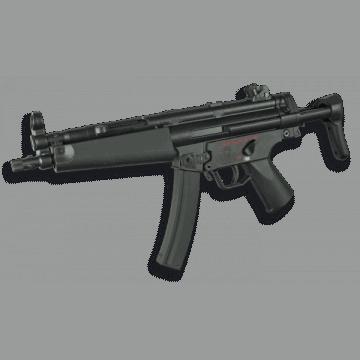 Elektrische Gewehr für Airsoft Replica des schwarzen Farbe MP5A. Steinadler-Marke