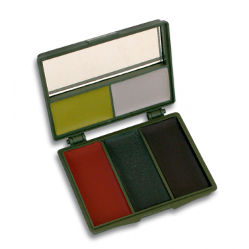 Pintura camuflaje. 5 colores