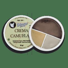 Tarro de 3 colores pintura de camuflaje desierto. 30g