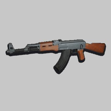 Fusil de muelle para airsoft, réplica del modelo AK47.