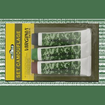 Set de 3 tubos de pintura camuflaje