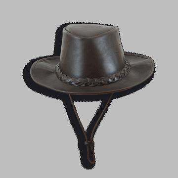 Sombrero de piel tipo Akubra.