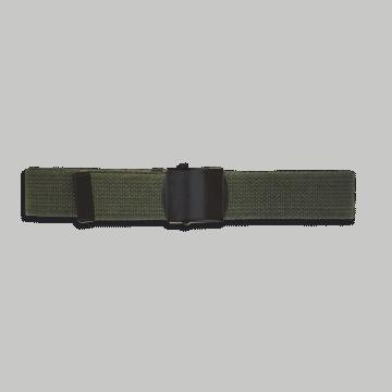 Cinturón ceñidor verde 120 x 3 cm