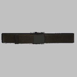 Cinturón ceñidor negro 120 x 3 cm