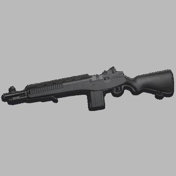 Rifle de muelle para airsoft, modelo M305 - M14