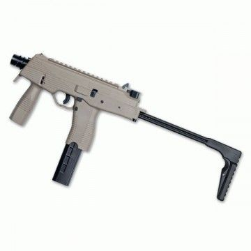 Airsoft submachine, model MP9 A1 b-t DESERT ASG