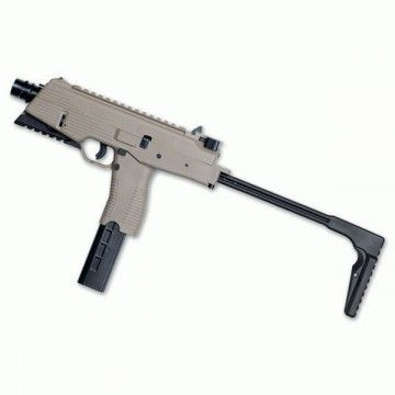 Airsoft submachine, model MP9 A3 b-t DESERT ASG
