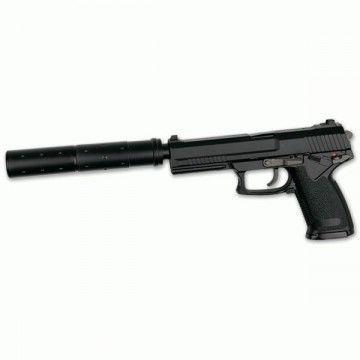 Pistola para airsoft, modelo MK23, Full Set HOP-UP