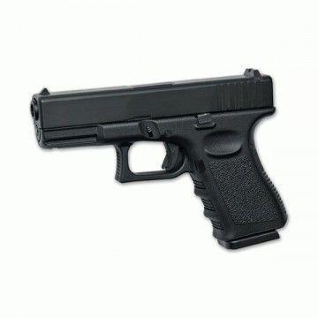 pistola para airsoft GBB, G19 metal slide