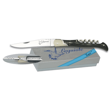Laguiole Albainox knife with black stamina handle 9 cm II