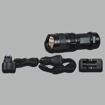 Mini rechargeable lanterne. Noir. 3W