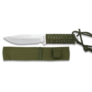 Tactical knife of 20.5 cm with nylon sheath