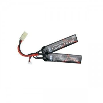 BATTERY for weapons AEG 7, 4V, 1300 mAh battery, Li-Po STRIKE