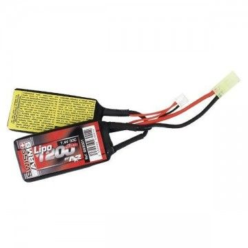 BATTERY GUN AEG LIPO SWISS ARMS A2A 7.4 1200 MAH 30 C