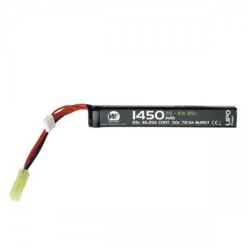 BATTERY FOR AEG WEEU 1450MAH 11.1V 20 C LIPO STICK TYPE WEAPONS