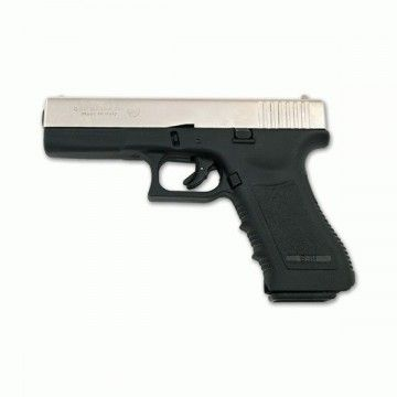 DETONATOR pistol model BRUNI GAP 9 MM matte/nickel