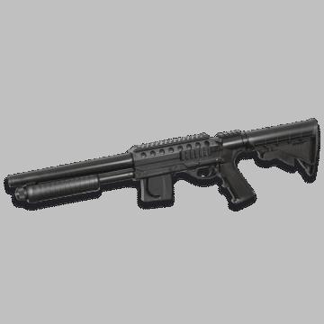 Escopeta de airsoft Smith & Wesson.