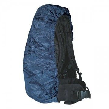 Cubremochila de color azul. Impermeable. 65L