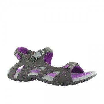 HI-TEC modèle INDRA STRAP sandals. Gris.