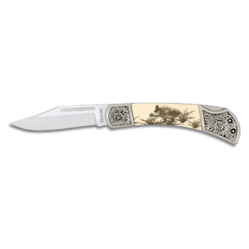 Albainox knife decorated with handle in zamak and ABS 7 cm. II
