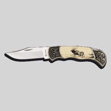 Knife Albainox decorated zamak and ABS. 8 I