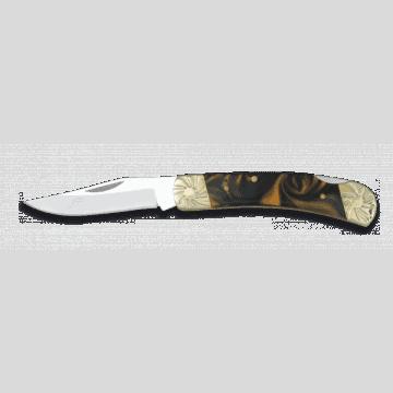 Albainox knife decorated with imitation Pearl 7 cm handle.