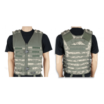 Tactical vest Barbaric, P-4 color Digital ACU. Molle system